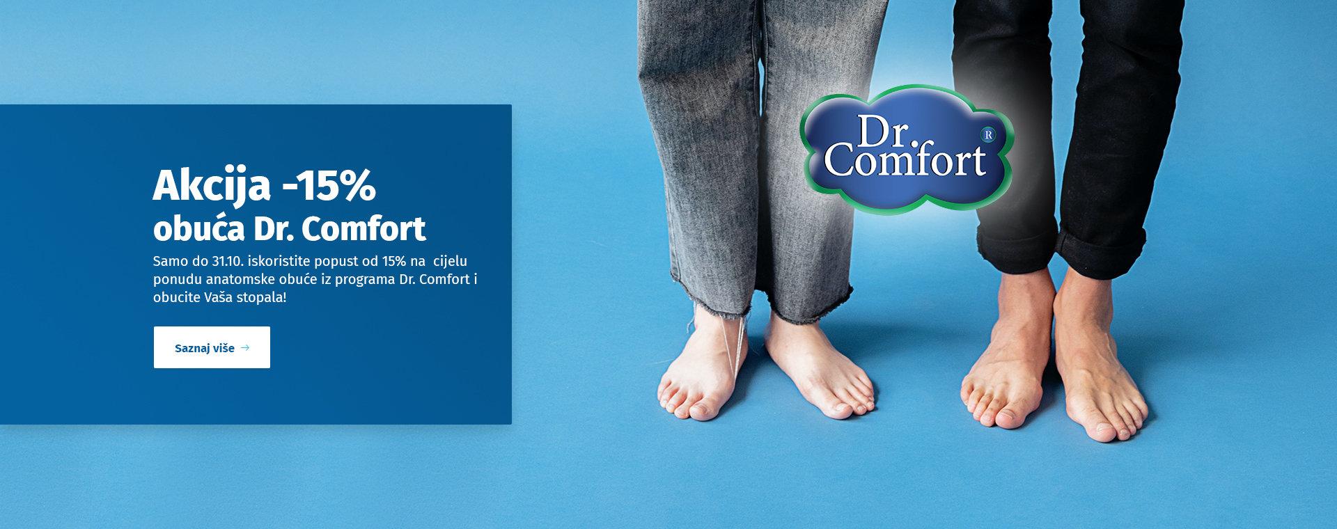 Dr. Comfort akcija